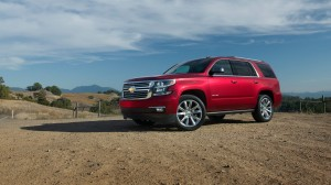 Crystal Red 2015 Chevy Tahoe