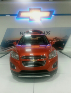 The All New Chevy Trax