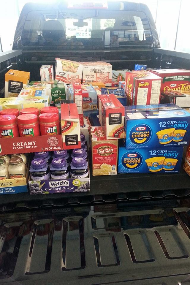 food drive chuckfairbankschevy. Cars Review. Best American Auto & Cars Review